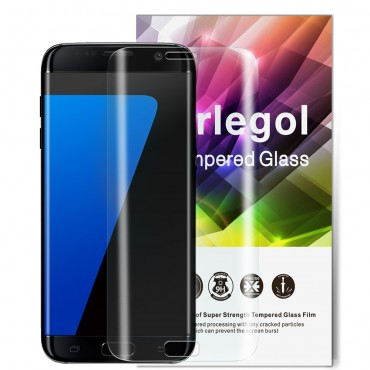 ORLEGOL Premium 9H Hardness Tempered Glass Screen Protector Film for Samsung Galaxy S7 edge